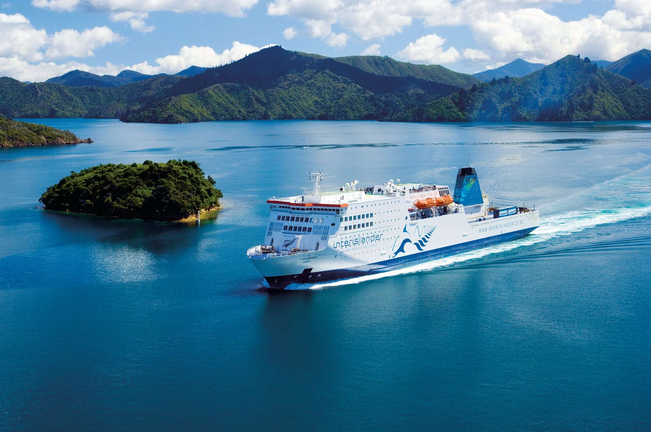 Interislander ferry New Zealand Chilli Rentals