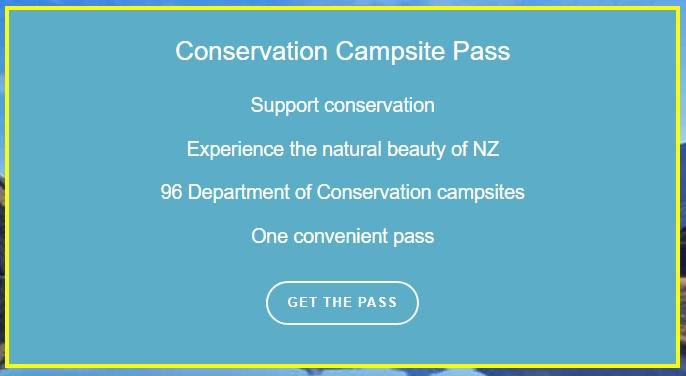 DOC campsite pass